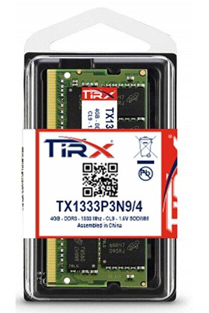 Tirx Tx1333p3n9/4 4 Gb Ddr3 1333 Mhz Intel & Amd Işlemcilerde Çalışır