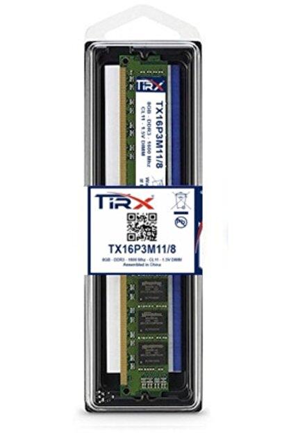 Tirx Tx16p3m11/8 8 Gb Ddr3 1600 Mhz Intel & Amd Işlemcilerde Çalışır
