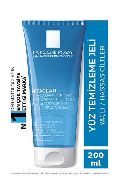 La Roche Posay Effaclar Yüz Temizleme Jeli Yağlı/Akneye Eğilim Gösteren Ciltler Parlama Karşıtı 200ml 3337872411083