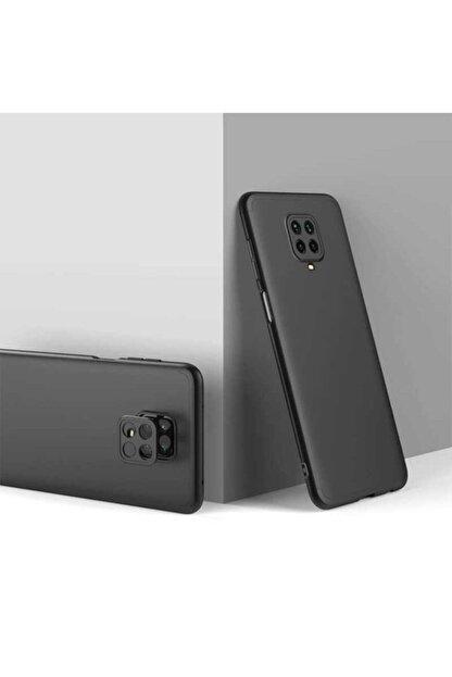 Telefon Aksesuarları Redmi Note 9 Pro Sert Silikon Kapak Siyah