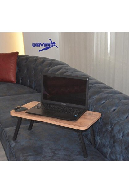 UNVERCO Vasto S Laptop Sehpa Calısma Kahvaltı Masası Yatak Servıs Masası