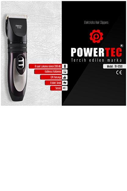 Powertec Profesyonel Saç Kesme Makinesi, Şarjlı Saç Tıraş Makinesi, Sakal Tıraş Makinesi, Tüy Alıcı Makine