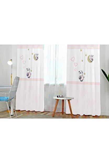 Bebişim Halı Panda 2174 140x240 Çocuk Odası Fon Perde