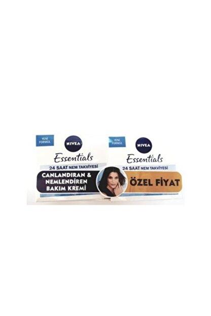 Nivea Essentials Canlandırıcı Gündüz Kremi 50 ml Normal-karma 2'li