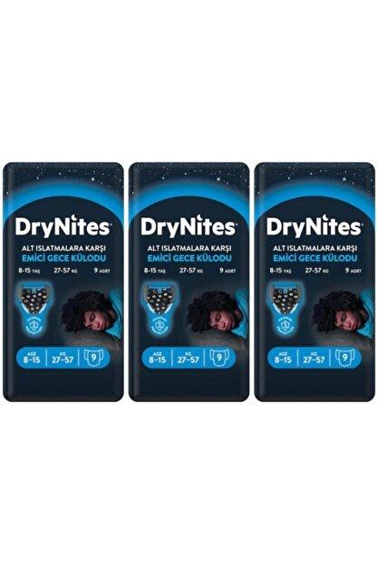 DryNites Erkek Emici Gece Külodu 8-15 Yaş 27 Adet
