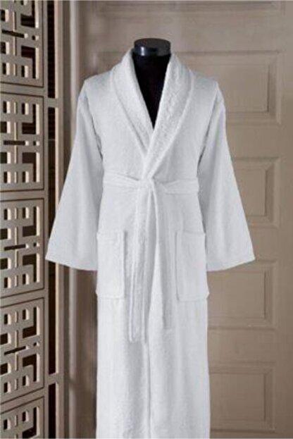 tekstilstok Erkek Beyaz Bornoz