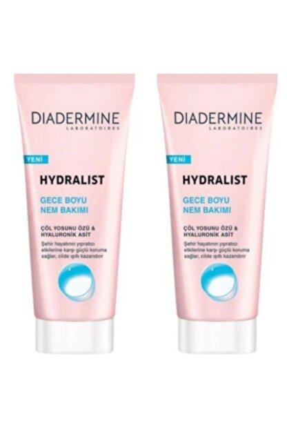 Diadermine Hydralist Gece Boyu Nem Bakımı 100 ml 2 Adet