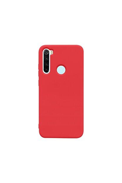casemarkt Xiaomi Redmi Note 8 Uyumlu  Lansman Kırmızı Silikon Telefon Kılıfı Mikro Fiber Iç Yüzey