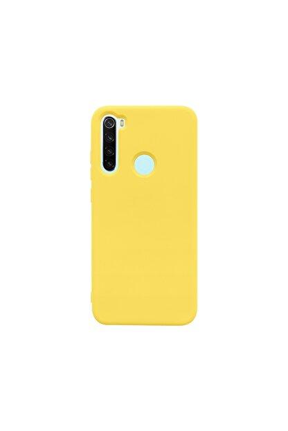 casemarkt Xiaomi Redmi Note 8 Lansman Sarı Silikon Telefon Kılıfı