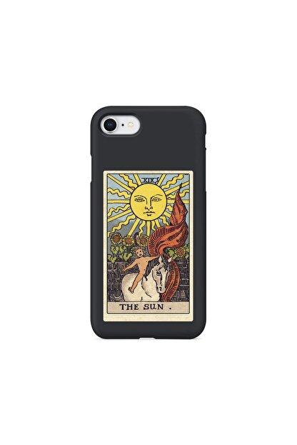 shoptocase Iphone 7 Siyah Lanman The Sun Baskılı Telefon Kılıfı
