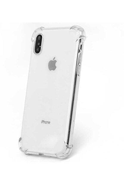 Yeni1Trend Apple Iphone X Kılıf Şeffaf Silikon Tam Korumalı Dayanıklı