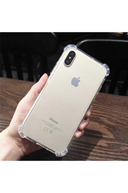 Yeni1Trend Apple Iphone Xs Kılıf Şeffaf Silikon Tam Korumalı Dayanıklı