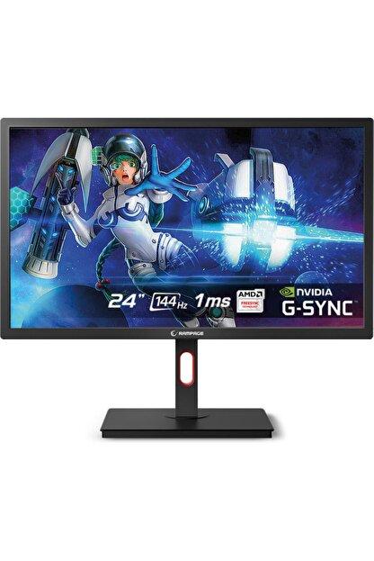 """Rampage Rm-244 Flash 24"""" FHD 1ms 144hz G-sync Freesync Hdmı Dp Led Gaming Oyuncu Monitörü"""