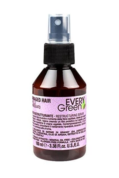 EveryGreen Yeniden Yapılandırıcı ve Onarıcı Serum Yıpranmış Saçlar - Damaged Hair 100 Ml