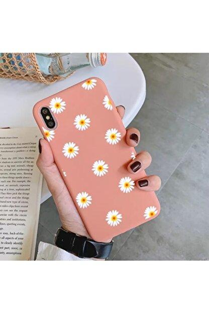 Mobildizayn Apple Iphone 6-6s Papatya Desenli Kılıf