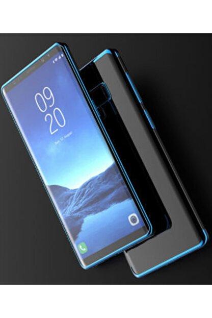 Pickcase Galaxy Note 9 Kılıf Dört Köşeli Lazer Silikon