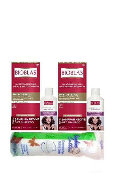 Bioblas Saç Dökülmesine Karşı 360 Ml X 2 Adet +2 Adet 150 Ml Collagen Şampuan Hediye
