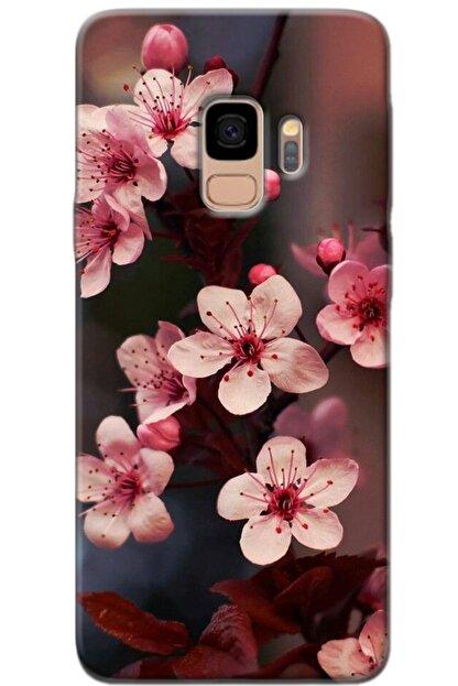 Noprin Samsung Galaxy S9 Kılıf Silikon Baskılı Desenli Arka Kapak