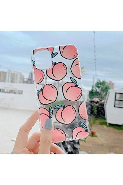 Mobildizayn Apple Iphone 11 Şeftali Desenli Kılıf