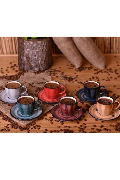 Bambum Bella 6 Kişilik Kahve Fincan Takımı