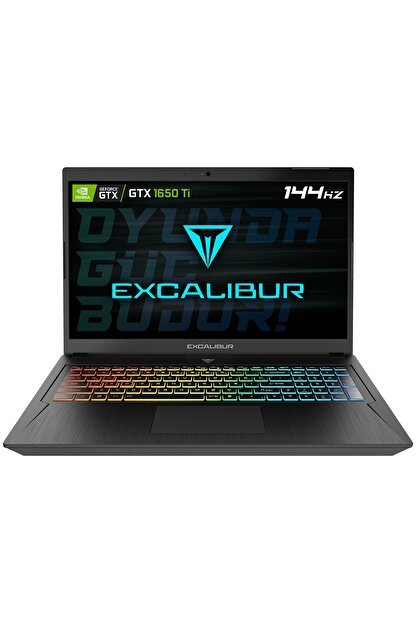 Casper Excalibur G780.1030-b6j0x-b Intel 10.nesil I5-10300h 16gb 1tb Hdd+500gb Nvme Ssd 4gb Gtx1650ti Dos