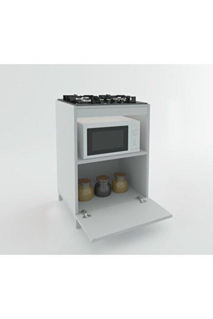 Kenzlife Ocak Dolabı Demi Byz 85*60*57 Mutfak Modül Mini Fırın Ankastre Ocak Için