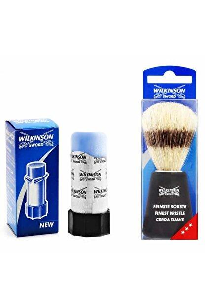 Wilkinson Sword Sentetik Tıraş Fırçası Ve Tıraş Sabunu Seti