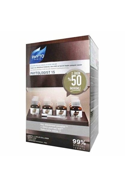 Phyto Logist 15 Anti - Hairloss Duo Set 24 X 3.5 ml