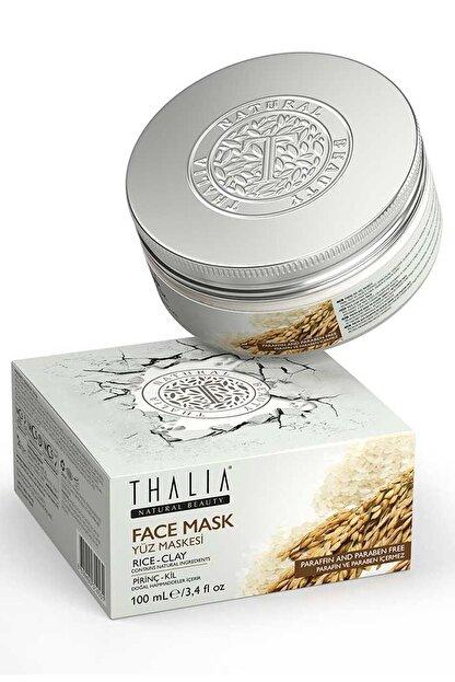 Thalia Pirinç – Kil Özlü Yüz Maskesi – 100 Ml