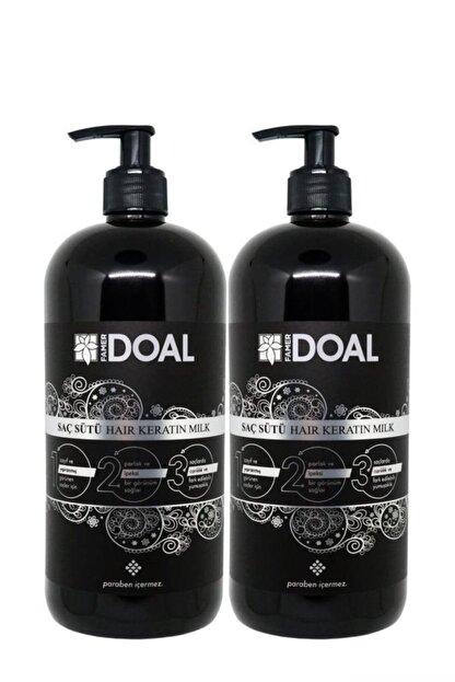 DOAL Keratin Sütü 1000+1000 ml 2 Şişe - Güçlü Ve Hızlı Uzayan Saçlar Keratin2sut