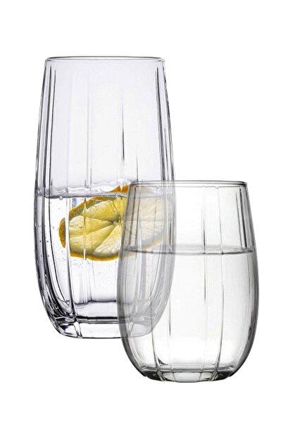 Paşabahçe Linka 12 Parça Su Meşrubat Bardağı Seti Takımı 420405 420415