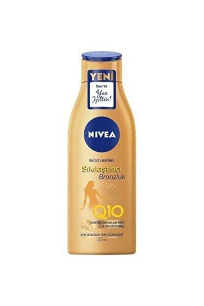 Nivea Body Q10 Sıkılaştırıcı Ve Bronzlaştırıcı Losyon 200 ml