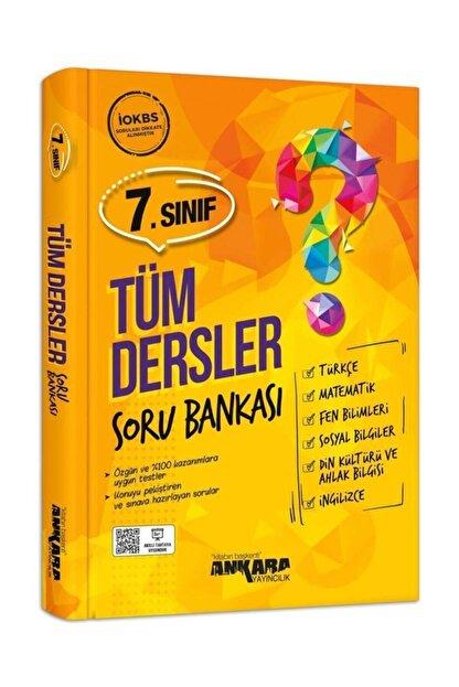 Ankara Yayıncılık 7. Sınıf Tüm Dersler Soru Bankası