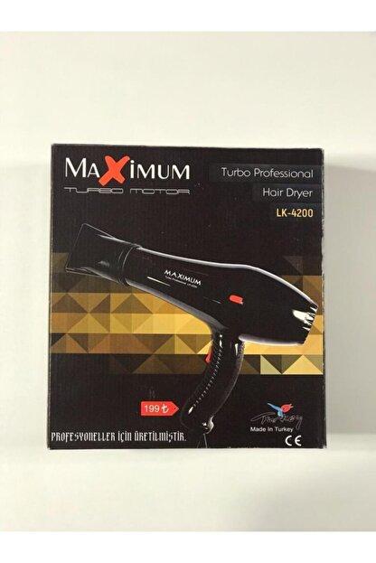 Powertec Maximum Siyah Fön Makinası Lk 4200 Pra-2146879-