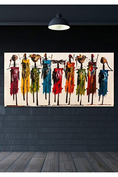 Hediyeler Kapında 60x120 Totemler Duvar Kanvas Tablo