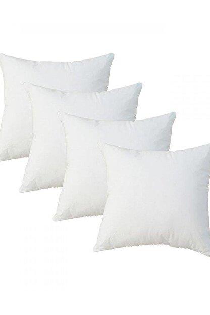LadyModa Beyaz Kırlent Içi Yastık 4 Adet 43x43 Cm