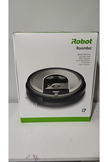 iRobot Roomba I7 Açık Gri Robot Süpürge Outlet - Distribütör Garantili