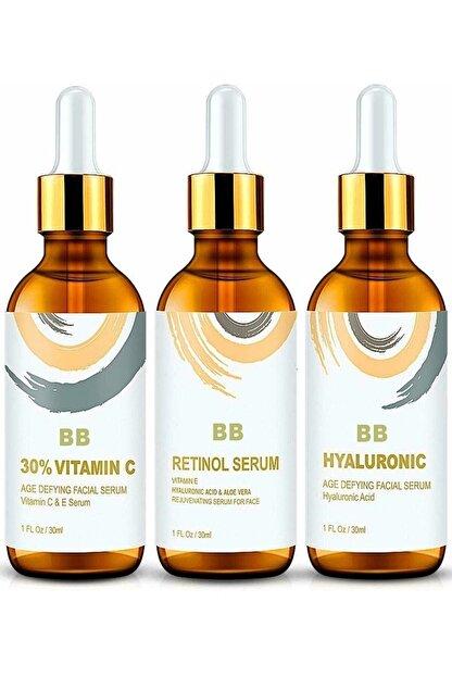 BB Vitamin C + Hyaluronic Acid + Retinol Cilt Serum Set