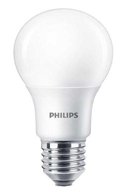 Philips Essential Led Ampul 8w - 60w E27 2700k Sarı Işık ( 12 Li Paket )