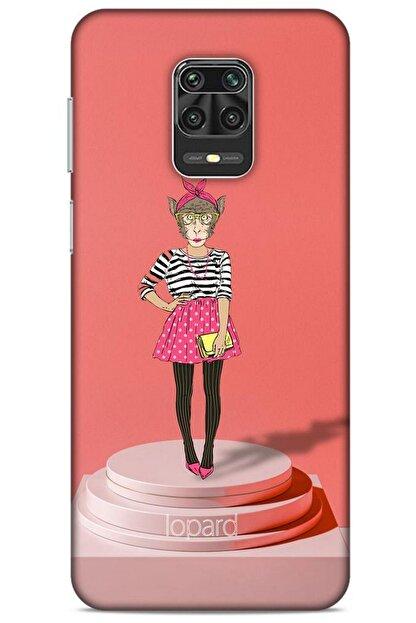 Lopard Xiaomi Redmi Note 9 Pro Kılıf Funnymax (9) Kılıf Gül Kurusu Maymun