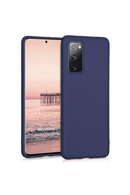 Samsung Microsonic Matte Silicone Galaxy S20 Fe Kılıf Lacivert