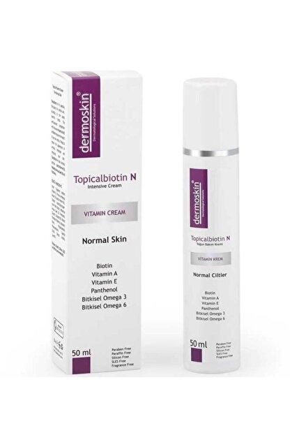 Dermoskin Topicalbiotin N Vitamin Kremi 50 Ml - Normal Cilt