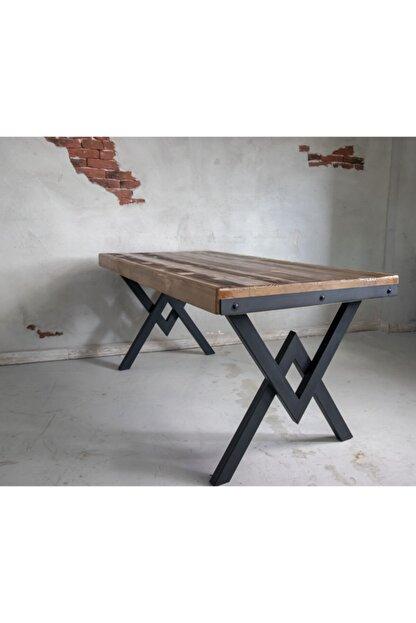 Deryawood Masif Mobilya Deryawood Masif Ağaç Yemek Masası 70*120*76 Cm