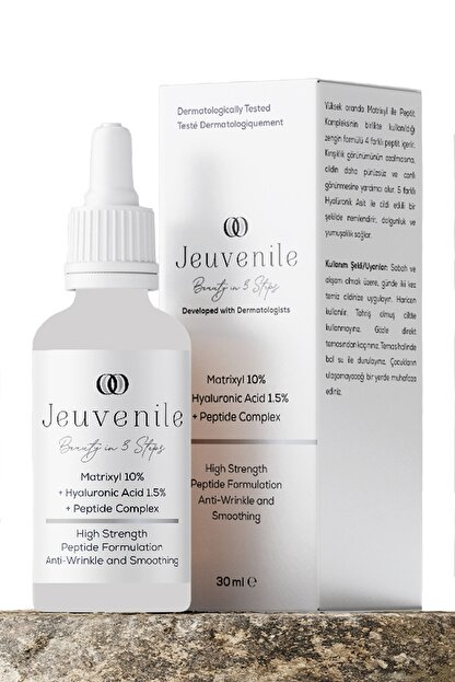 Jeuvenile Matrixyl %10 + Hyaluronic Acid %1.5 + Peptide Complex Anti-Age Kırışıklık Karşıtı Serum 30 ml