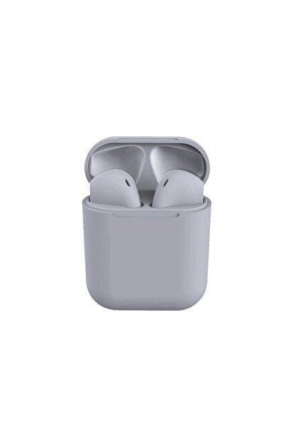 Tws Airpods I12 Gri Iphone Android Universal Bluetooth Kulaklık Hd Ses Kalitesi