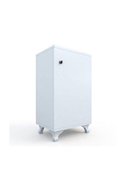Kenzlife Kilitli dolap rana29 byz banyo dolabı ayaklı mutfak ofis kiler kitaplık evrak ÖZEL EBAT 68*29*29 cm.