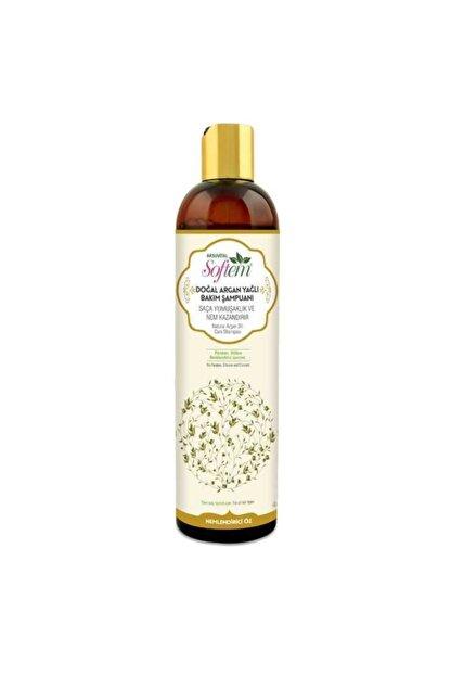 Softem Sepetse Argan Yağlı Saç Bakım Şampuanı 400ml Saça Yumuşaklık Ve Nem Kazandırır Argan Yağlı Şampuan