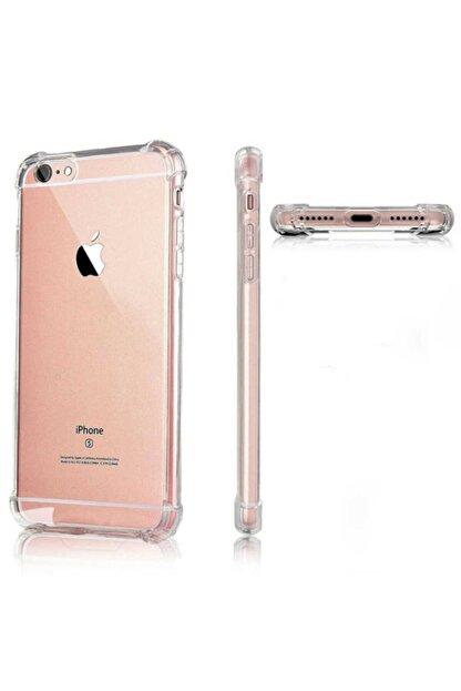Yeni1Trend Apple Iphone 7 Plus Kılıf Şeffaf Silikon Tam Korumalı Dayanıklı