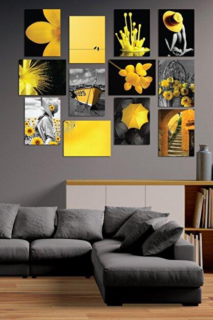 Cadran Modern Style 12 Parçalı Mdf Tablo Mck019