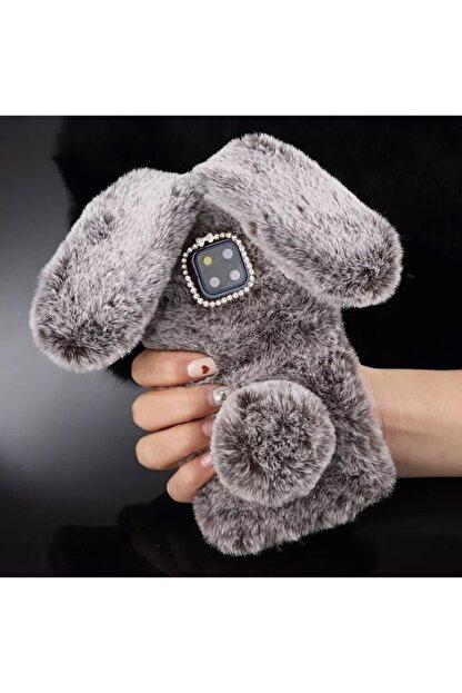Mobildizayn Huawei P 9 Lite 2017 Tavşan Kulaklı Peluş Kılıf